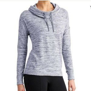 Athleta Blissful Cowl Neck  Sweatshirt HW8548